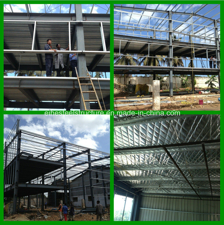 Structural Steel Multi-Storey Office Building Workshop pictures & photos