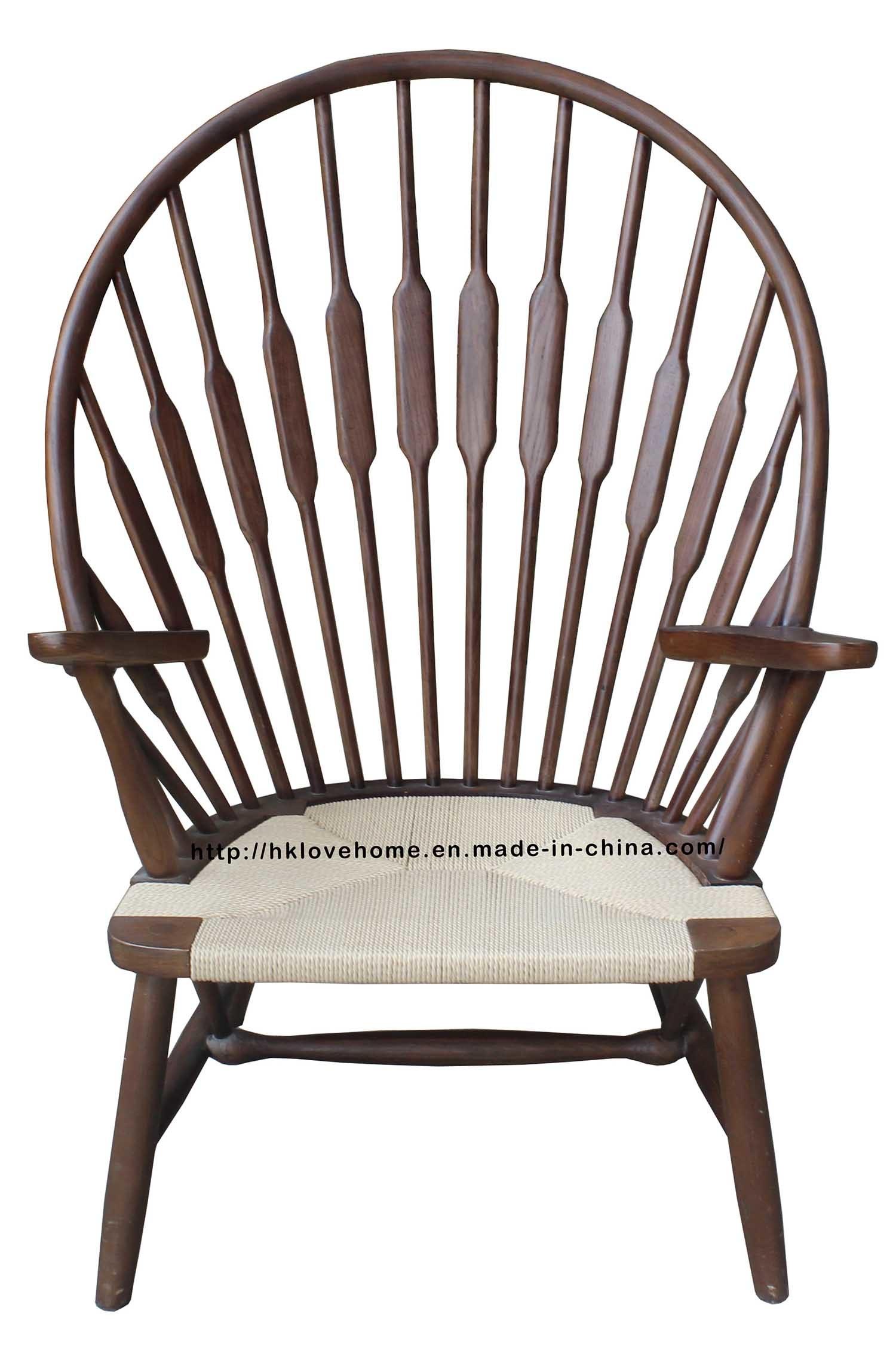 hans wegner peacock chair. China Replica Dining Coffee Hans Wegner Peacock Wooden Chair - Chair,