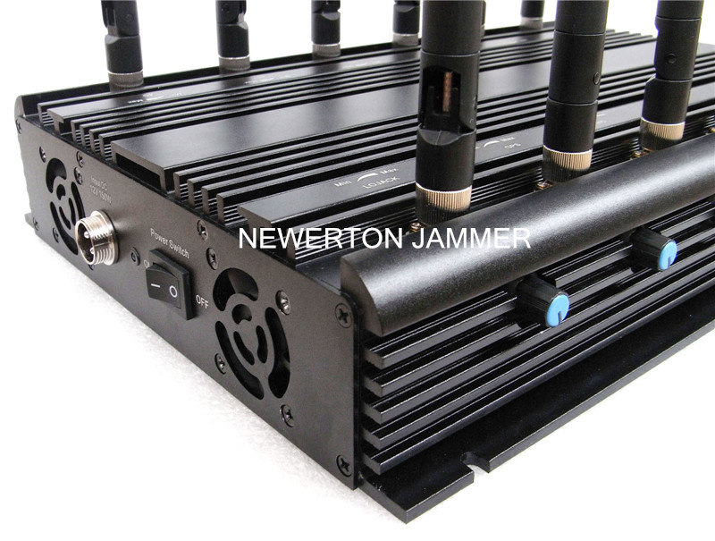 Stationary 12 Bands Desktop Jammer Blocker for All Cellphone, Remote Control, VHF/UHF RF Radio Jammer/Blocker; All in One Jammer/Blocker pictures & photos