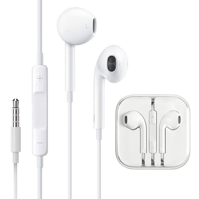 China Noise Cancelling Earphone For Iphone 6 5s Headphone With Mic And Volume Control Mobile Headset China Boat Earphone And Headphone Price