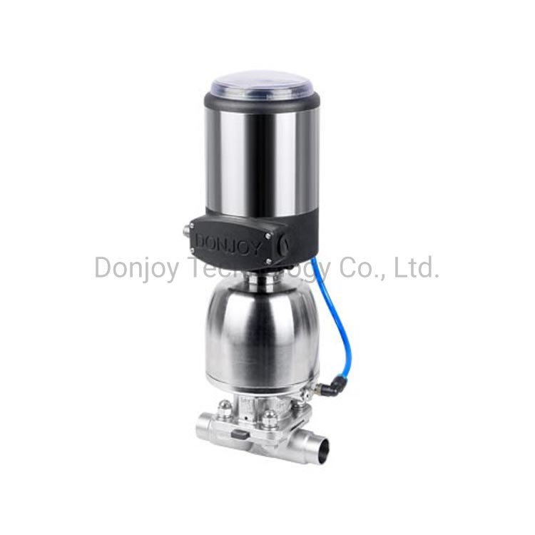 SS316L Pharmaceutical Multiport Diaphragm Valve for Pharmacy Application pictures & photos