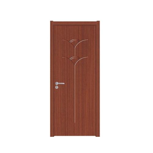 Hot Item Modern House Pvc Bathroom Door Price India Flat Wood Door