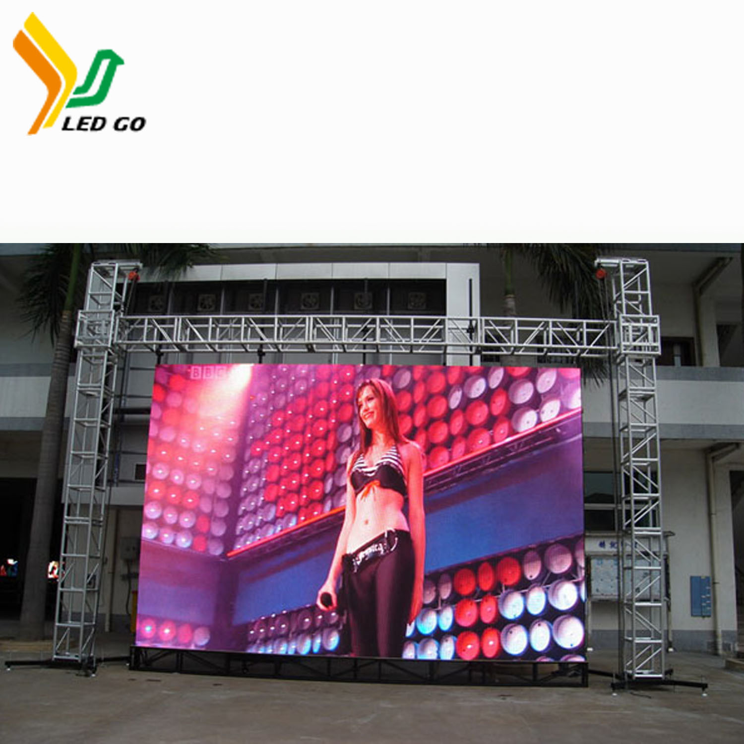 China Solar Energy P8 LED Module Display Screen for