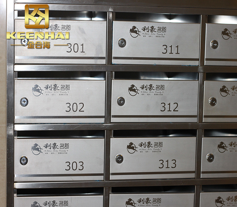 China Wall Mount Residential Mailboxes for Apartment Building Photos ...