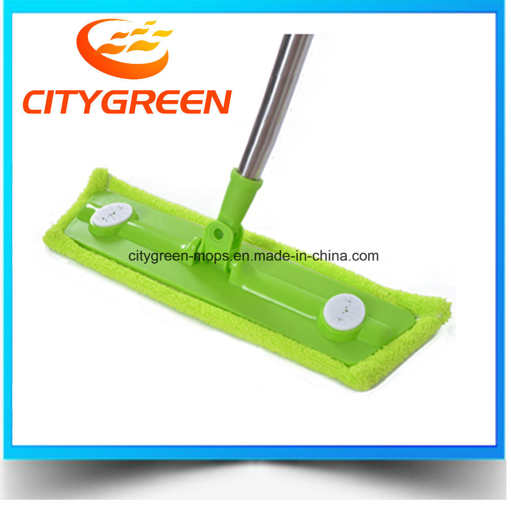 [Hot Item] Cotton Floor Cleaning Stick Mops /Dust Mops with Stainless Steel  Stick for House/Hotel
