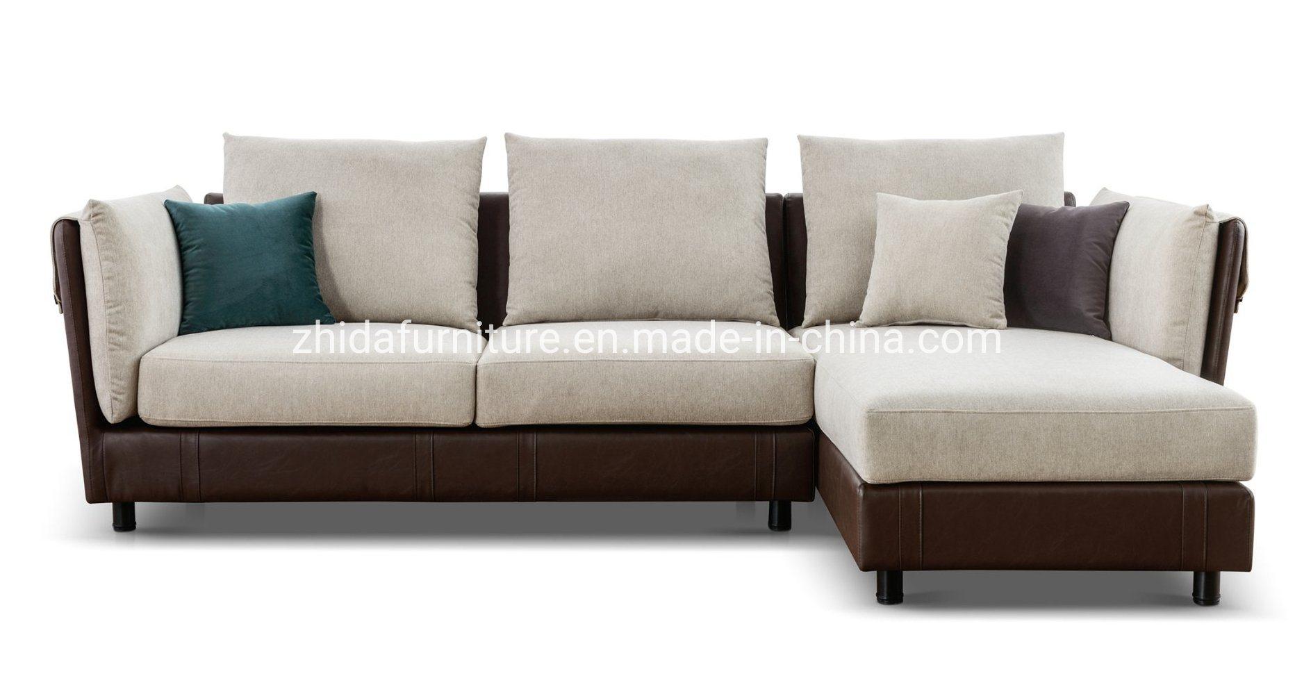 China Modern Furniture Leather Fabric