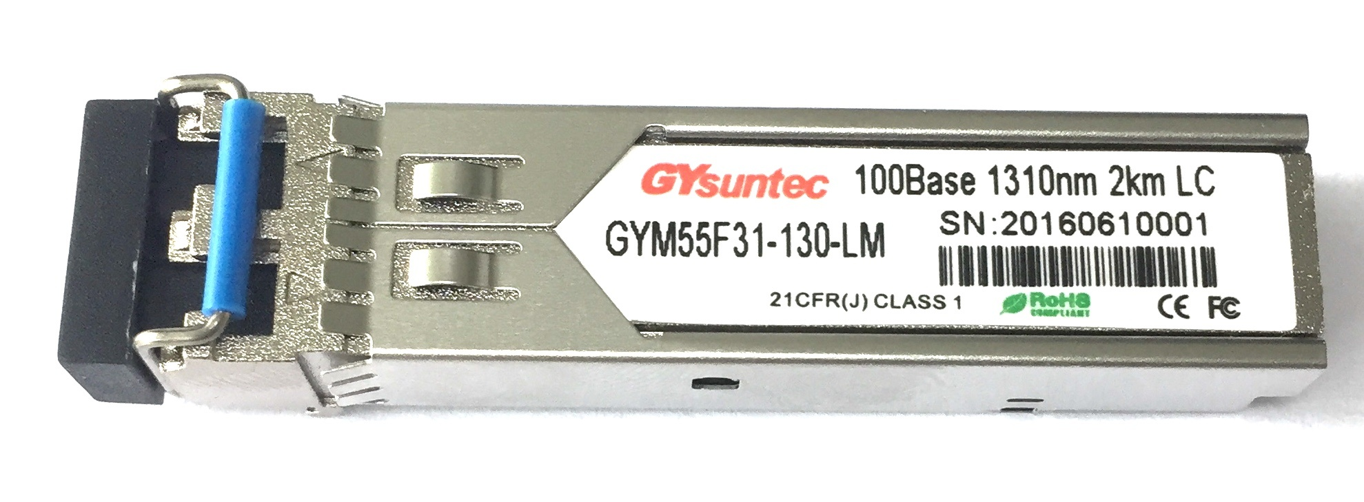 [Hot Item] 1GB Single Mode Dual Fiber 20km SFP Compatible with Cisco