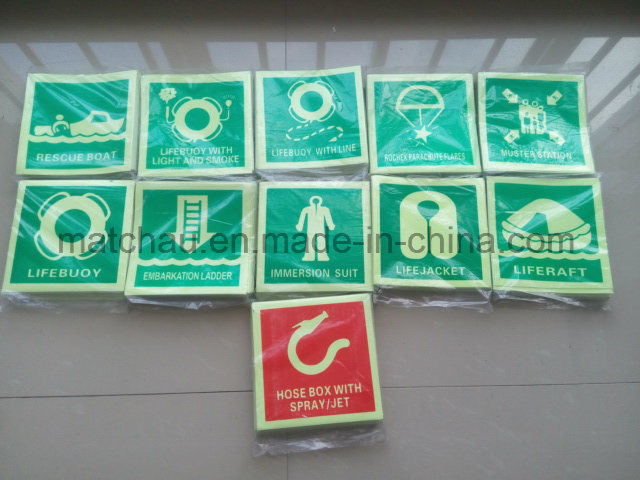 China Marine Photoluminescent Safety Signs Imo Symbol China Symbol