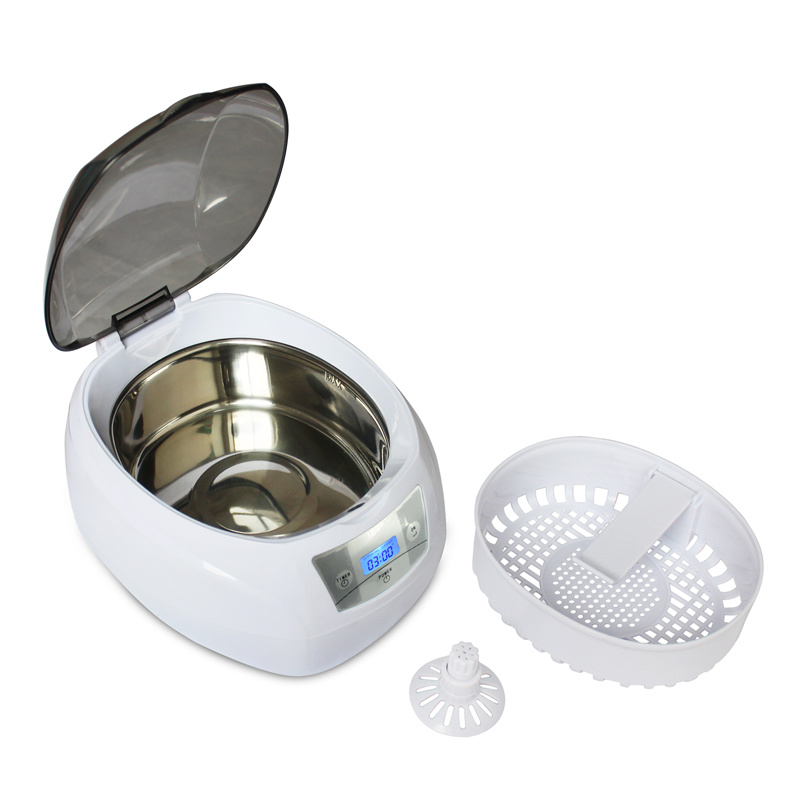 Ultrasonic CD DVD Cleaner 750ml with Plastic Basket and Frame pictures & photos