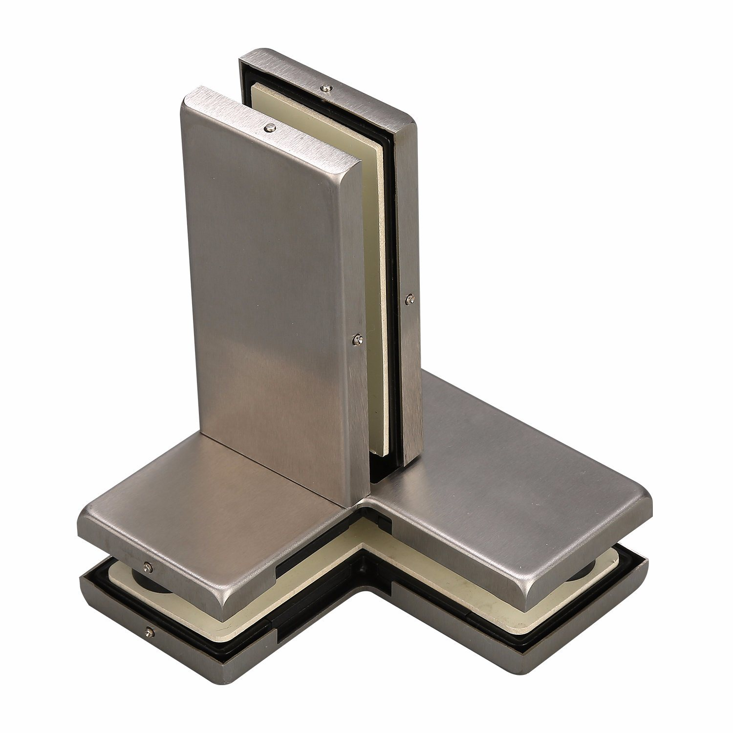 China P61 Stainless Steel Glass Door Transomsidelite Fin Patch