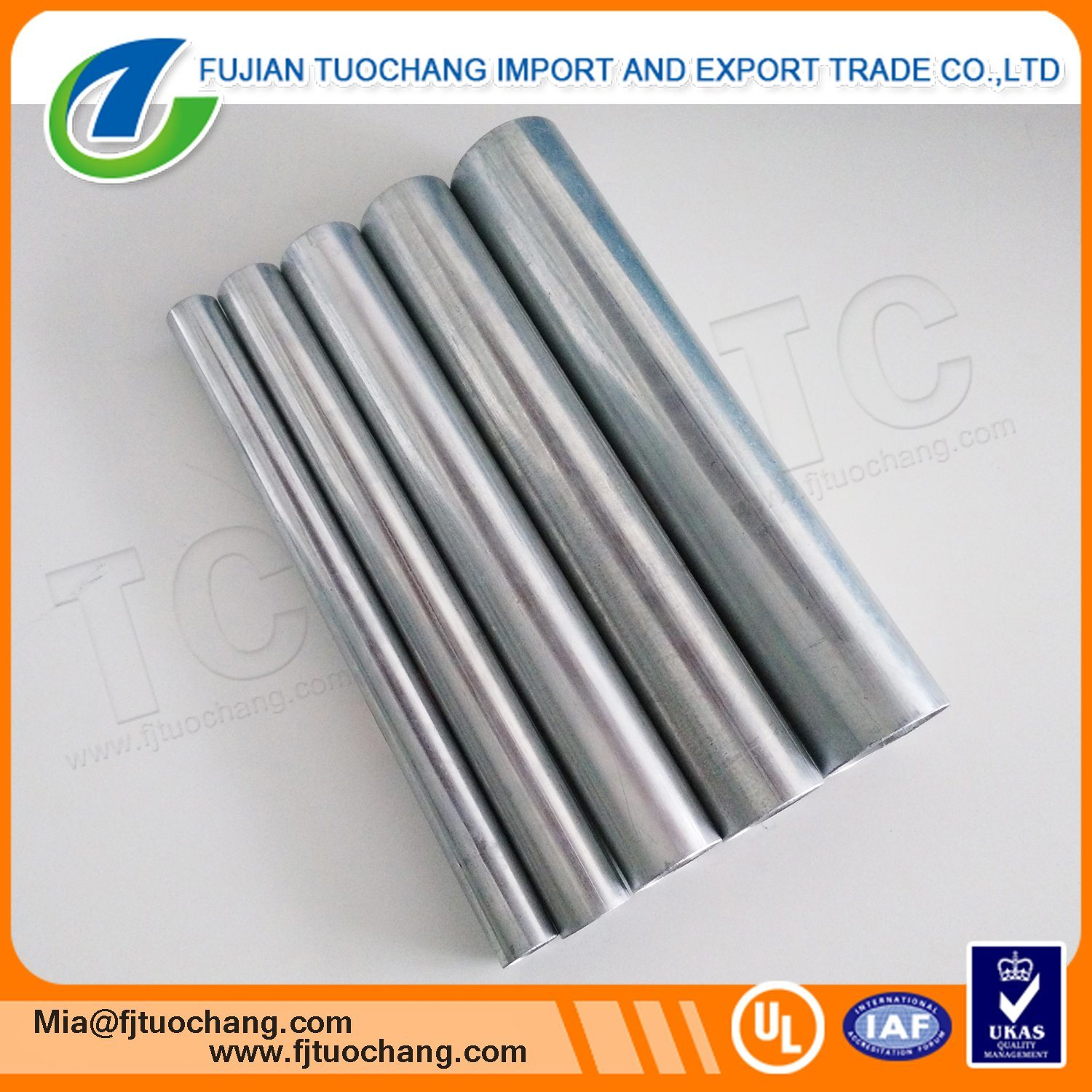 China Hot-DIP Galvanized Electrical Cable Wiring Conduit Photos ...