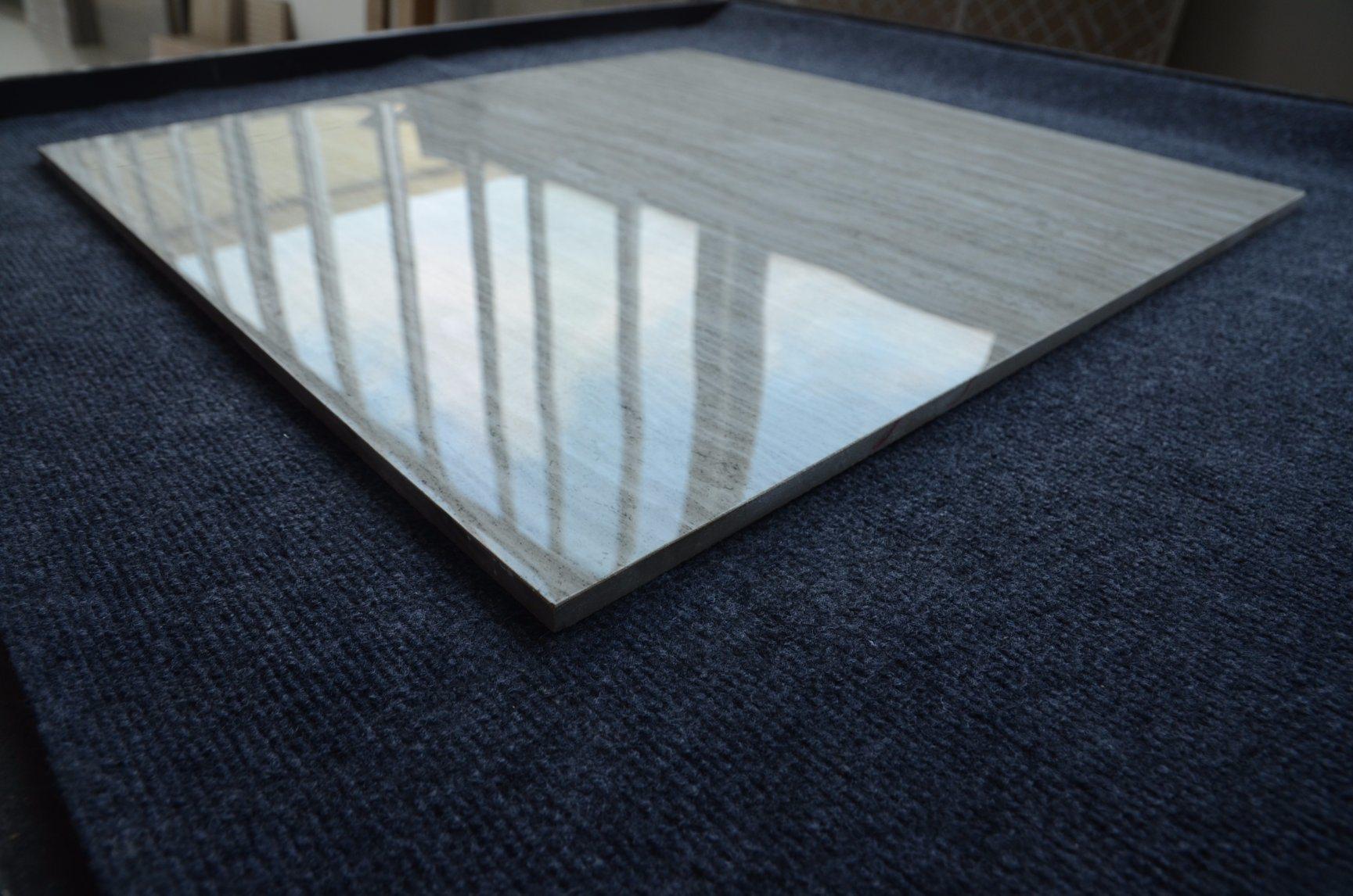 China 800X800 Heat Insulation Grey Wood Grain Kitchen Floor Tiles ...