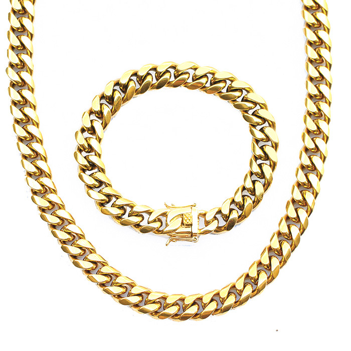 03e153cc05525 [Hot Item] Jewelry Dubai New 18K Gold Chain Design for Men