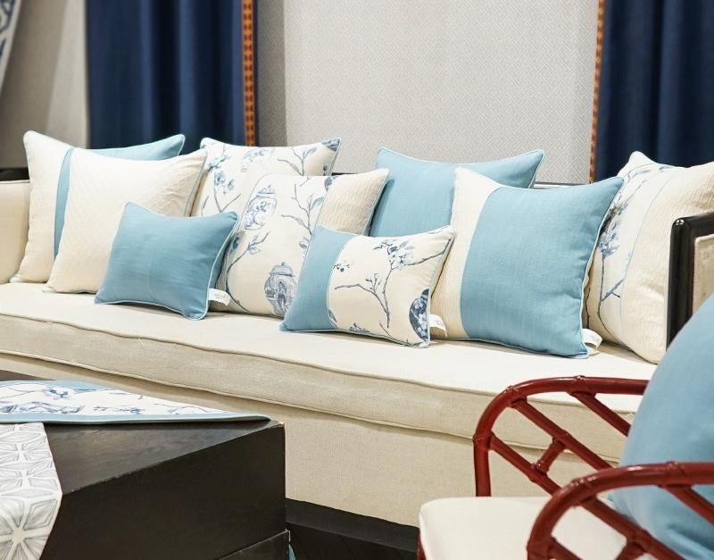 Carbon Fiber Winter Cushions For Sofa