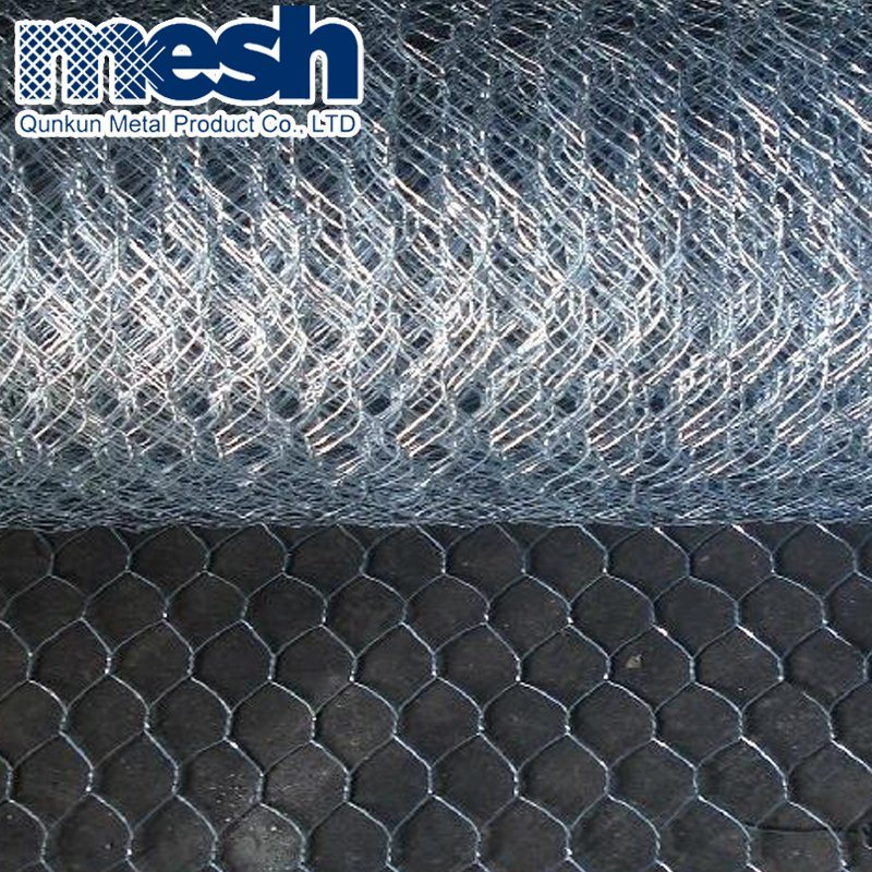 China 45mmx45mm Mesh Size Chicken Hexagonal Wire Mesh with Factory ...