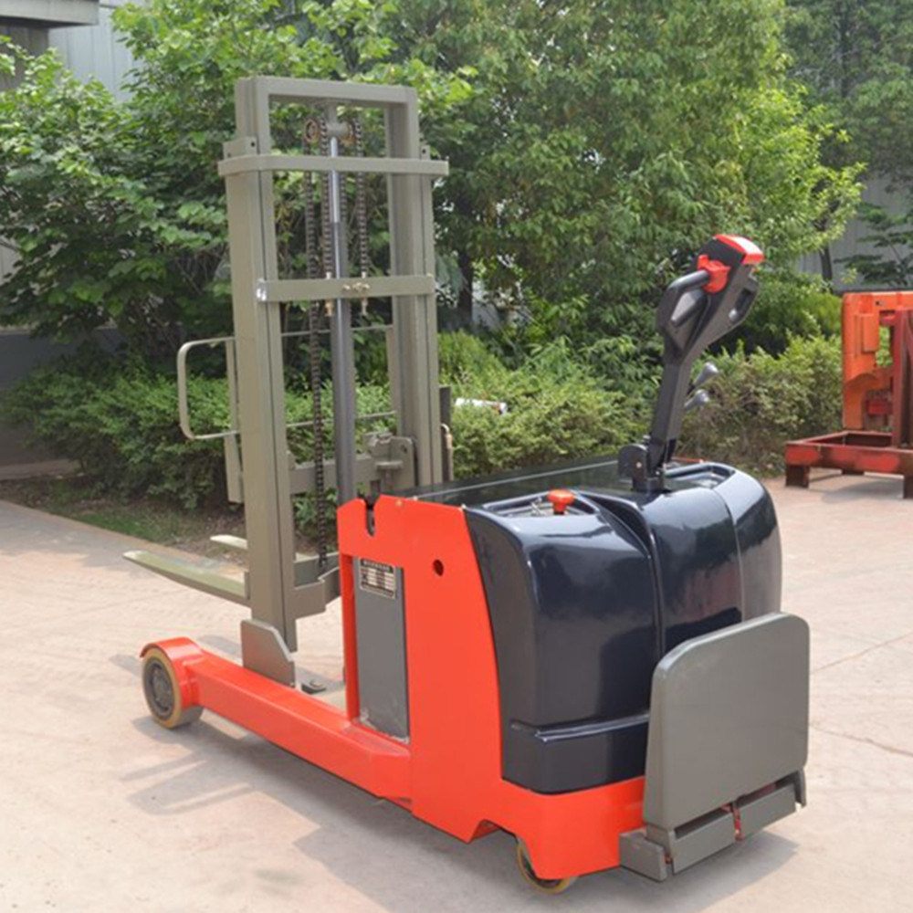 China 1 5ton Rated Capacity Full Electric Reach Stacker with
