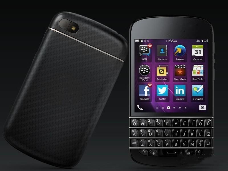 [Hot Item] Bulk Factory Original Keyboard Mobile Phones Unlocked 4G Used  Smart Phone Q10