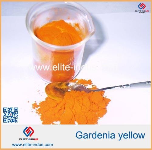 China Gardenia Yellow Gardenia Extract Powder Food Coloring - China ...