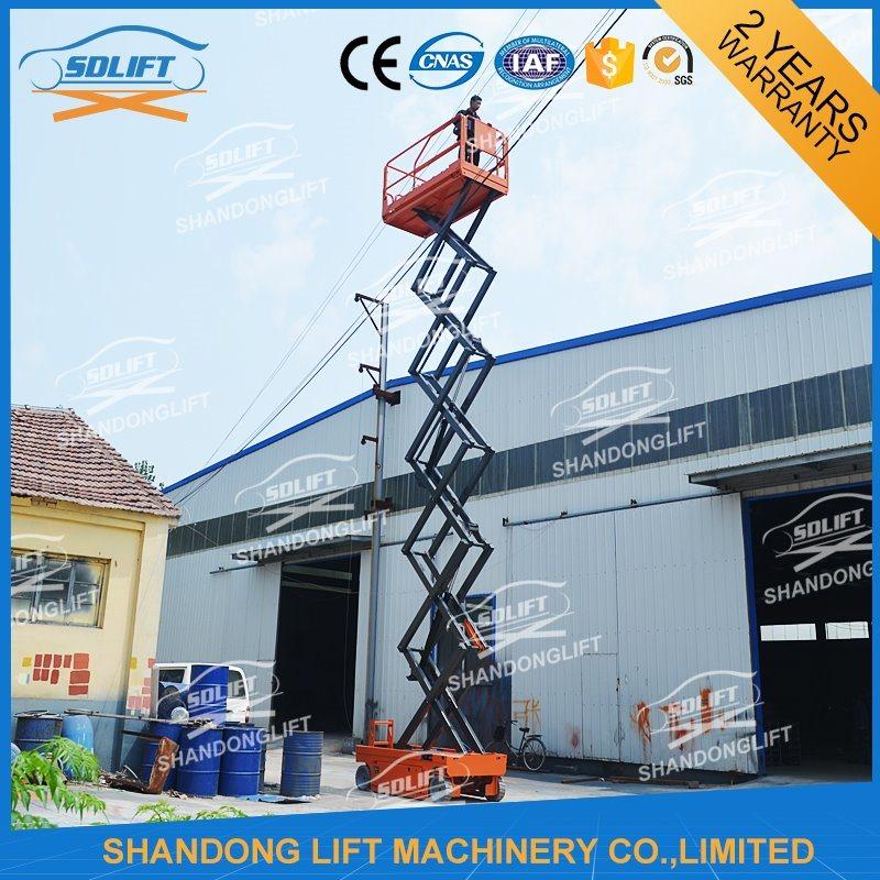 China Hydraulic Upright Self Propelled Scissor Lifts for Maintenance ...