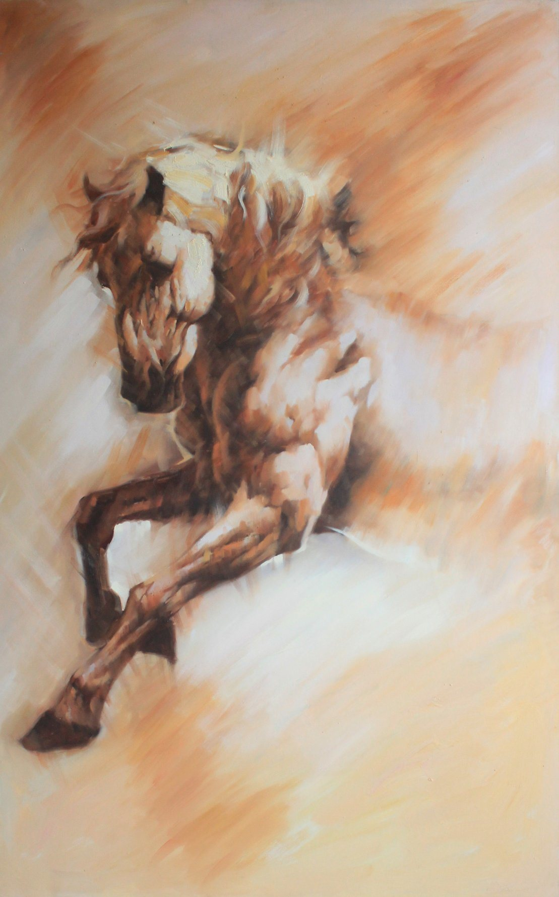 China Running Horse Oil Painting New Design China Oil Painting And Modern Oil Painting Price