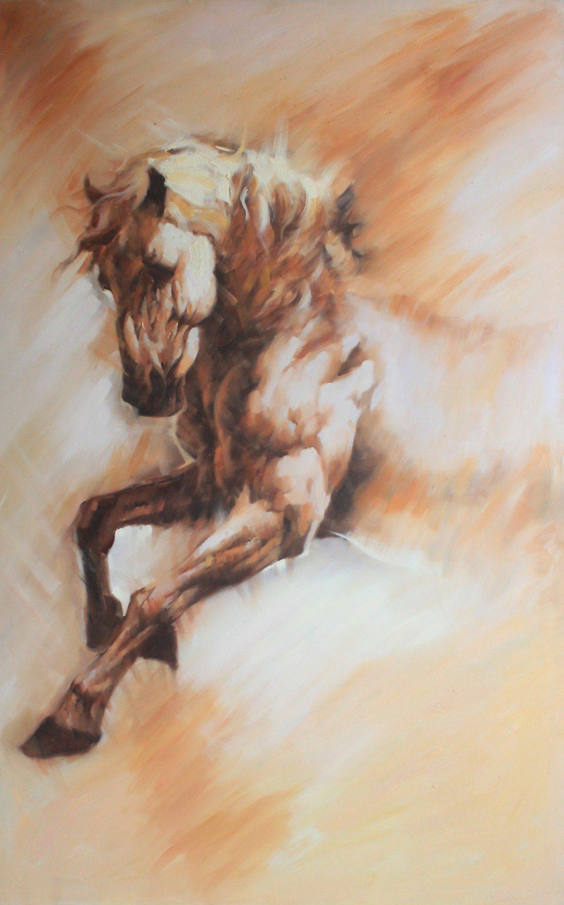China Running Horse Oil Painting New Design China Oil Painting And Modern Oil Painting Price