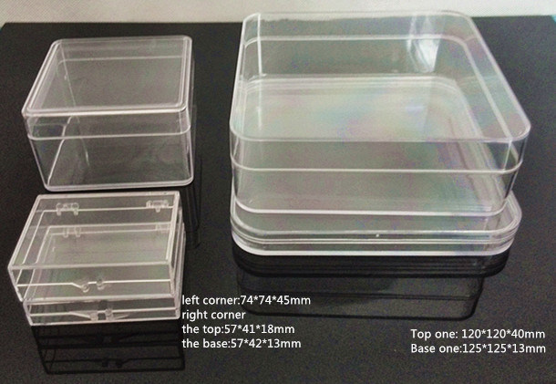 Clear Plastic Packaging Box with Round Corners