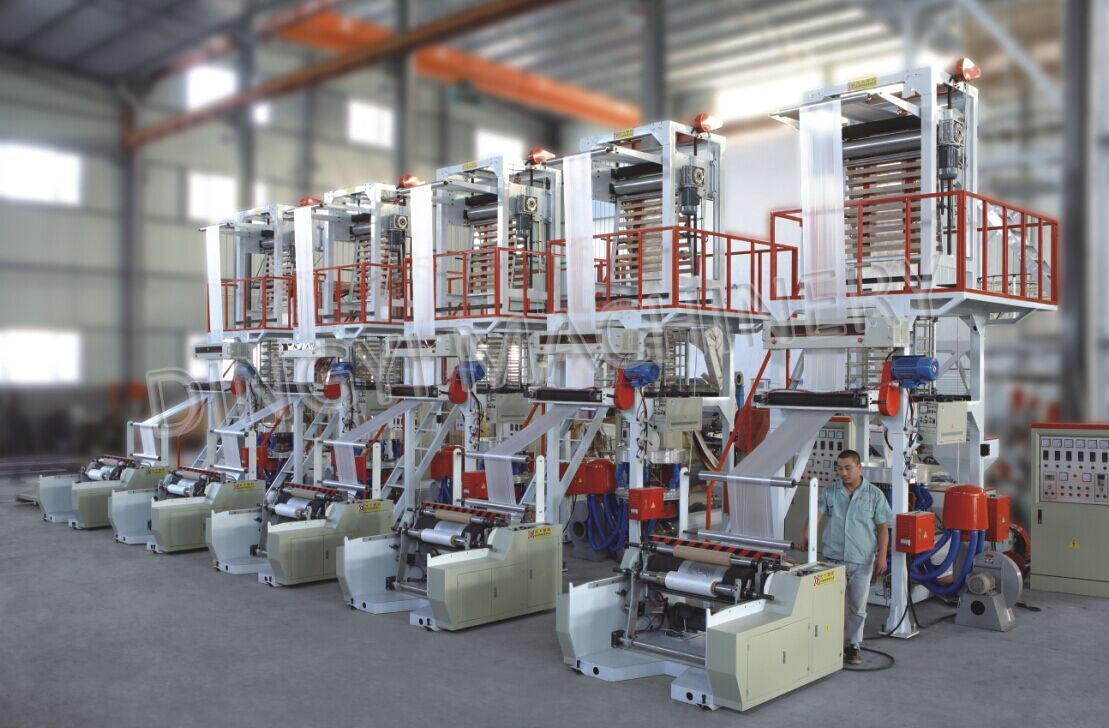 Automatic High Speed Film Blowing Machine
