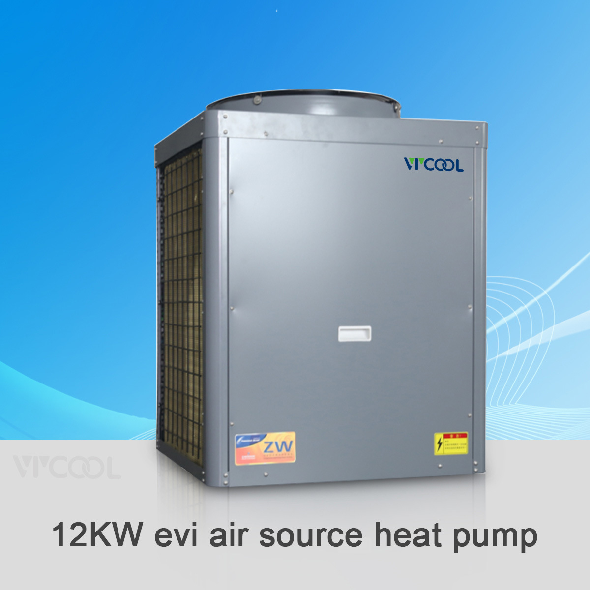 China Air Water Heat Pump Evi Type for House Heating and Air ...