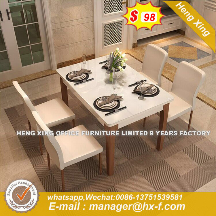 Promote Sales Fiberglass Malleable Dining Table (HX-8DN043) pictures & photos