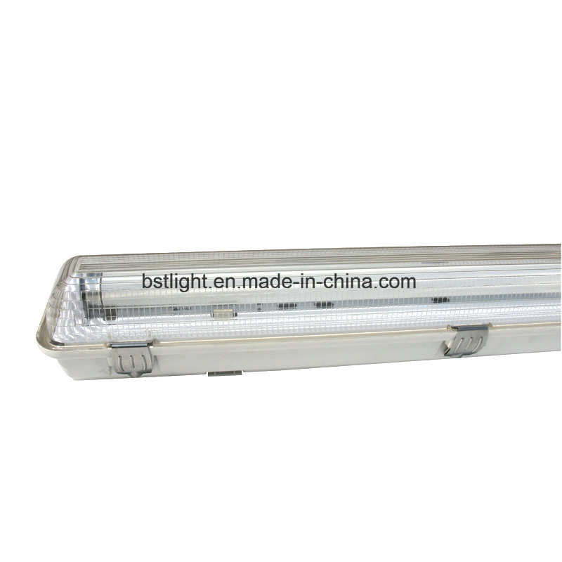 China 5 Years Warranty T8 4ft Led 2x36w Ip65 Waterproof Outdoor Wall Light Fixture Lighting
