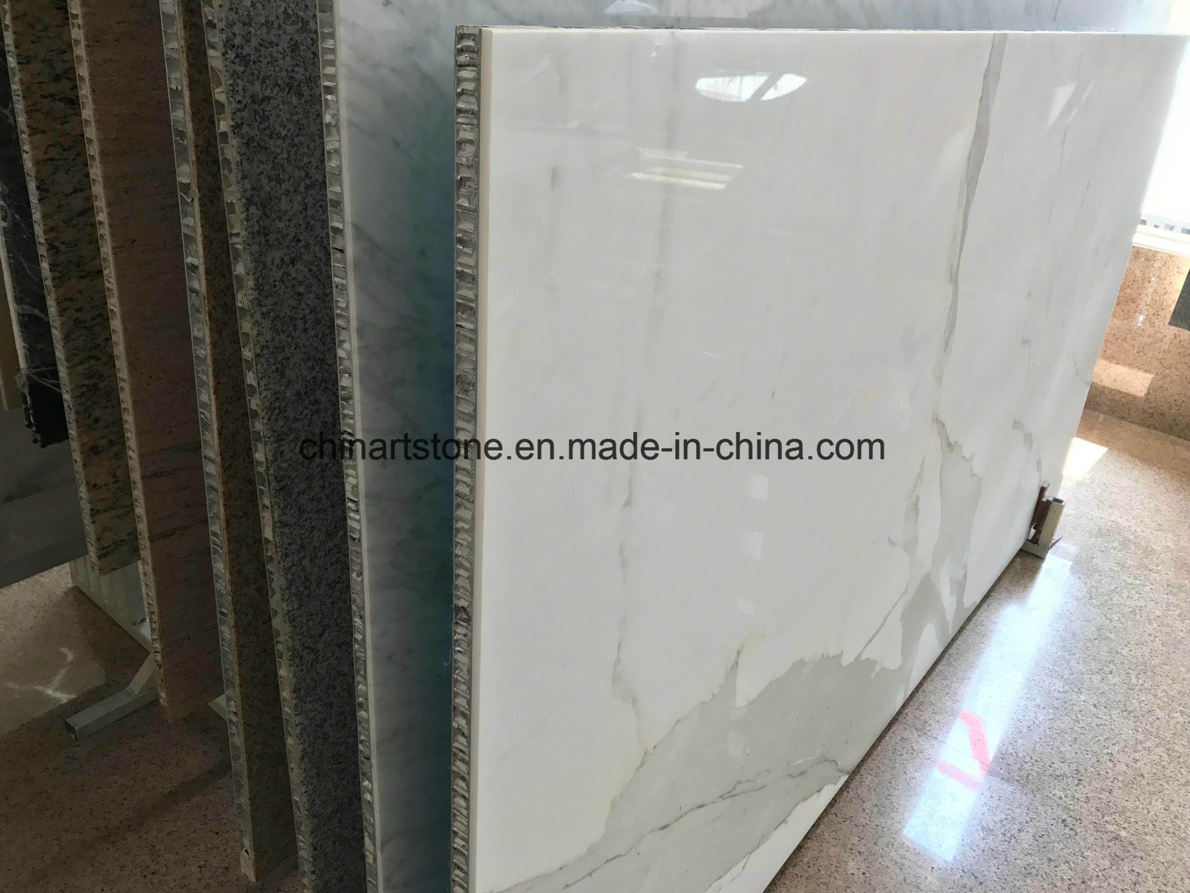China 2 5mm Thin Marble Composite Tile