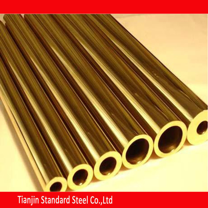 Round Brass Tube 300 mm Length 8 mm OD 1 mm Wall Thickness Seamless Straight Pipe Tube 2 Pieces