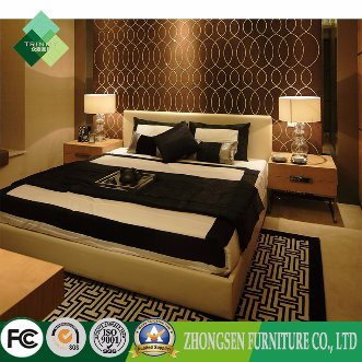 [Hot Item] Custom-Made Nice Hotel Bedroom Furniture Sets Used Mens Master  Bed with New Modern