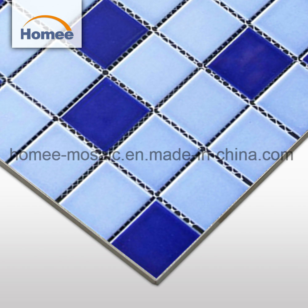 China Mosaic Ceramic Tile Blue Price Crack Ceramic Mosaic Swimming ...