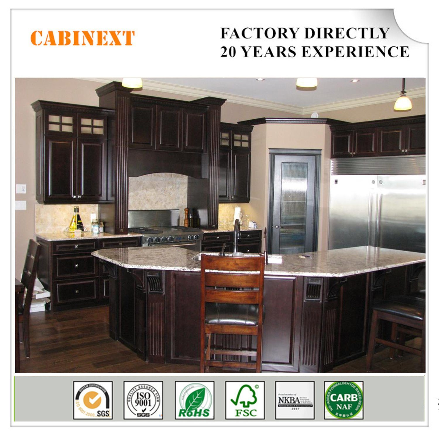 China 2018 Best Sell American Markets Modern Lacquer Kitchen