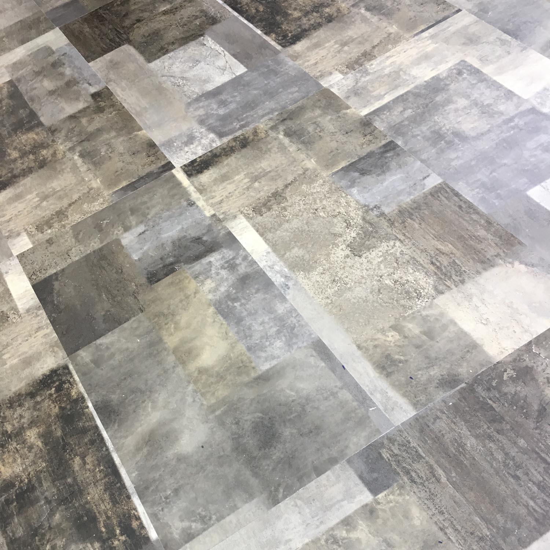 Floor Tile Glue Down Vinyl Flooring