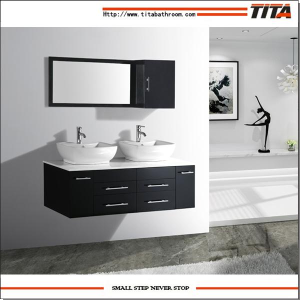 China Solid Wood Bathroom Cabinet Mirror Cabinets Bathroom Double