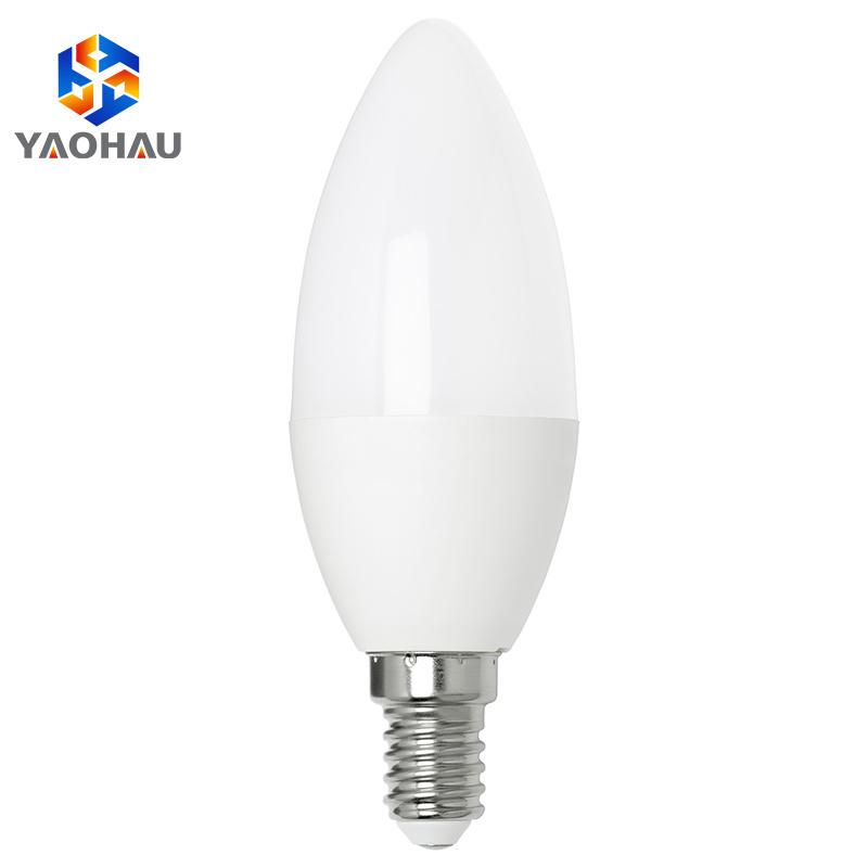 Dimmable E14 E27 3W 6W 9W LED Candelabra Bulbs Candle Chandelier Light Lamp 220V