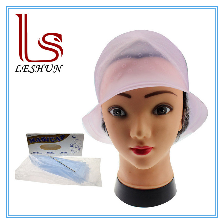 China Reusable Silicone Hairdressing Hair Color Cap Hair