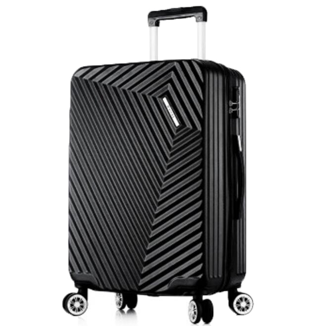 03e4b69386ea [Hot Item] Carry on Luggage 360 Degree Wheels Trolley Travel Suitcase