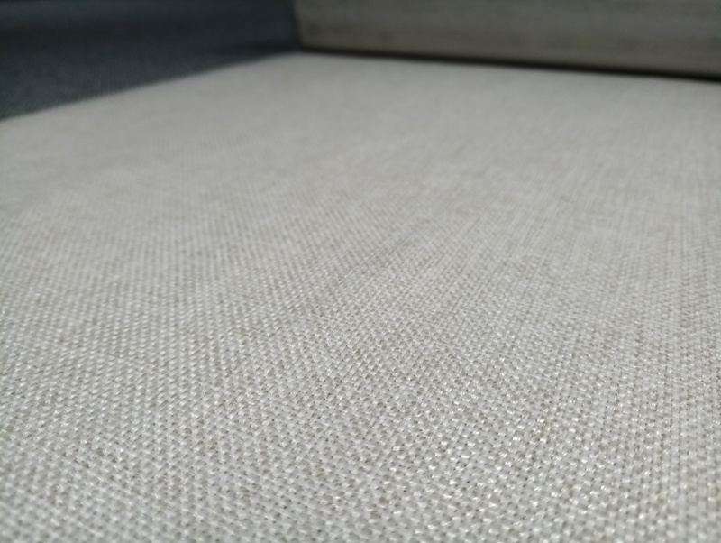 China Pure Linen Polyester Fabric With