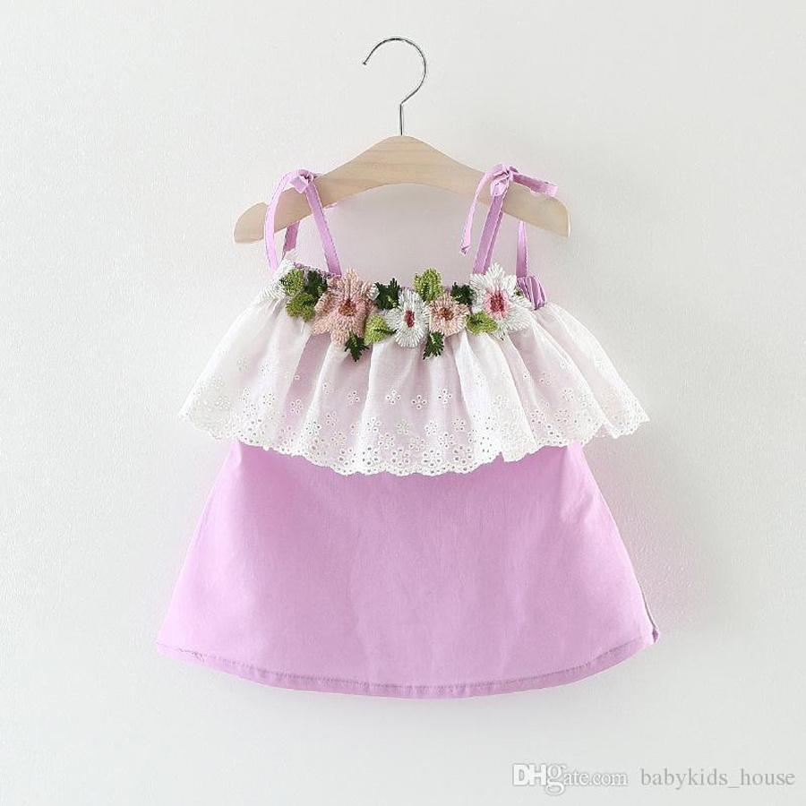 05129d096fe [Hot Item] 2018 Baby Girl Party Dress Children Frocks Designs New Model  Girl Dress