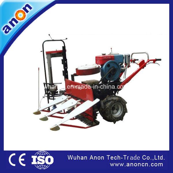 China Anon 4gk80 Mini Rice Wheat Straw Reaper Binder