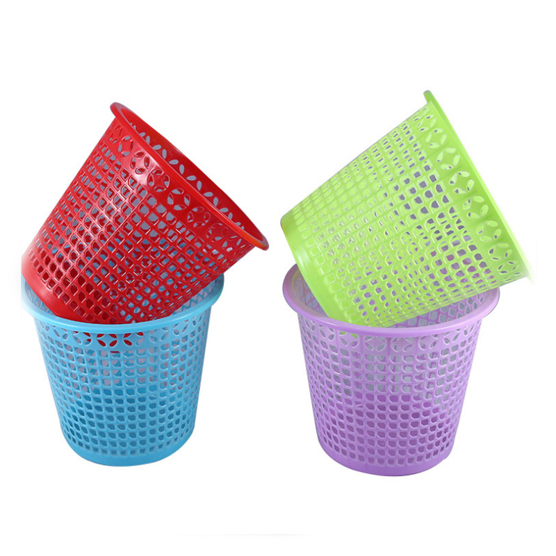 1328ddd9be27 [Hot Item] Eco- Friendly Plastic Waste Bins, Household Trash Can, Office  Trash Can Plastic Garbage Bin
