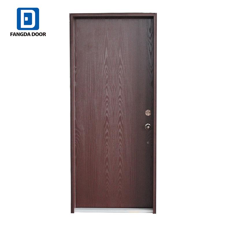 China Fangda 2 Panel Fiberglass Bedroom Door Designs India ...