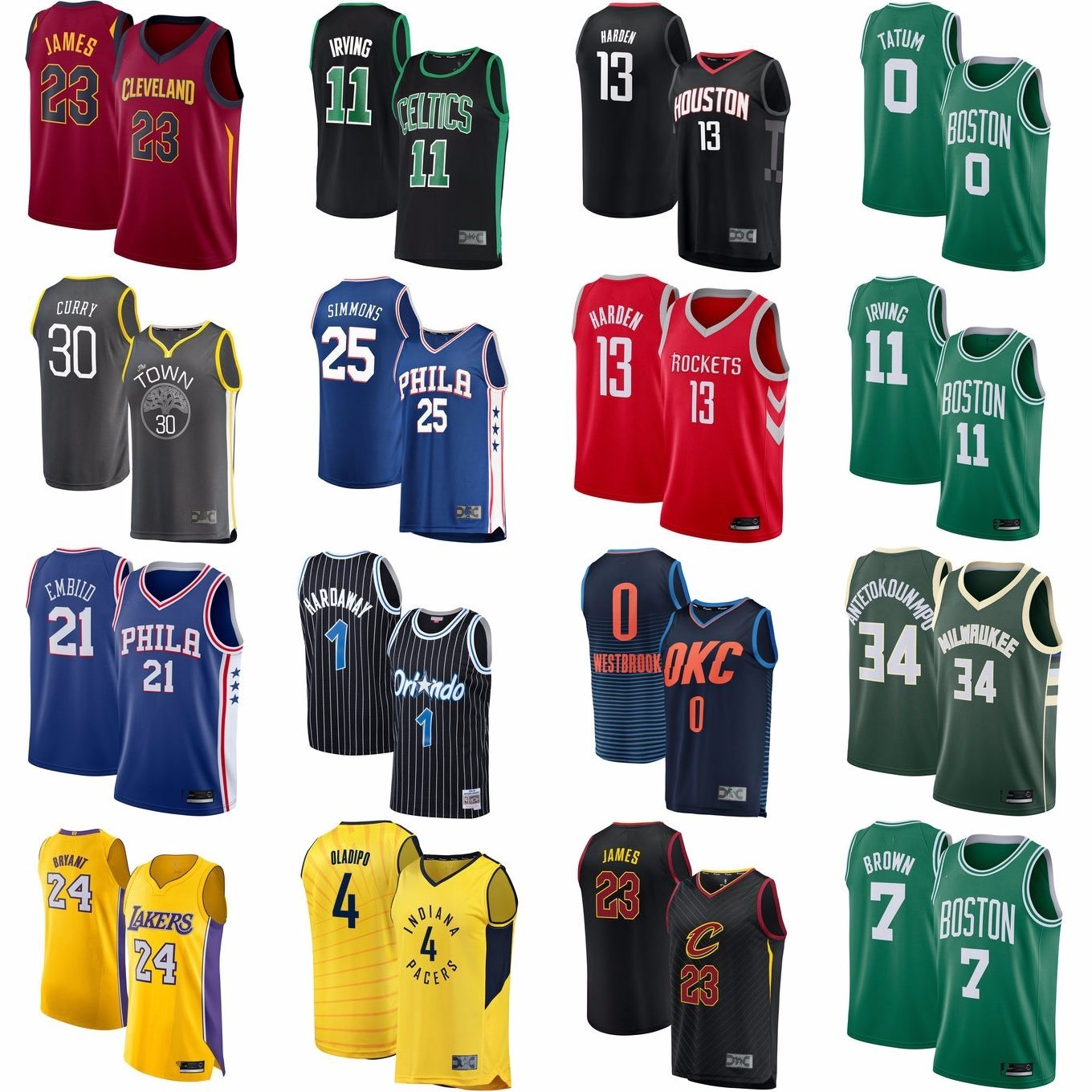 2d257510fb7 China Factory Outlet All Teams Top Selling Players Basketball ...