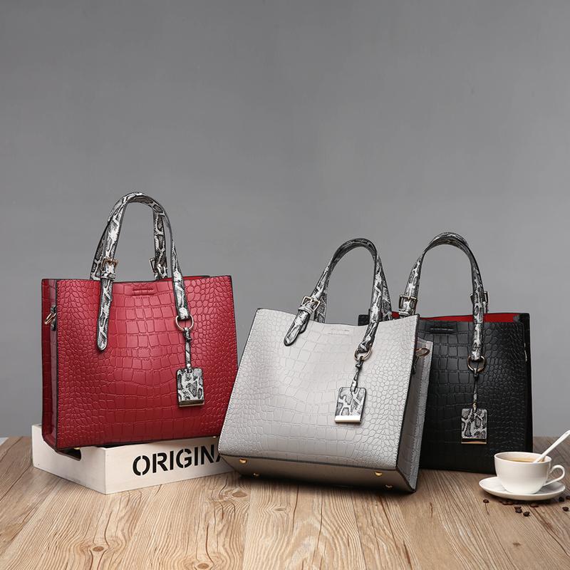 Alligator Skin Leather Bags