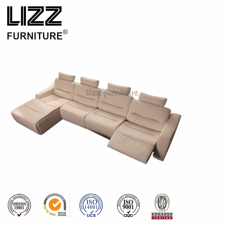 Hot Item L Shape Sofa Functional Type Genuine Leather