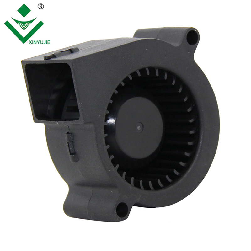 [Hot Item] 5020 Xinyujie Low Noise 12V DC Blower Fan for Kitchen Ventilator  50mm Air Blower PWM Function