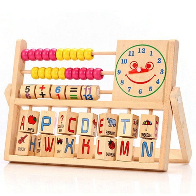 China Wooden Baby Numbers Arithmatics Math Bead Abacus ...